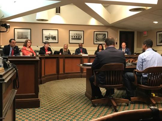 Hearing worker and industry concerns in the  Assembly Committee on Labor and Employment with  fellow Assemblymembers Kalra, Thurmond and Flora