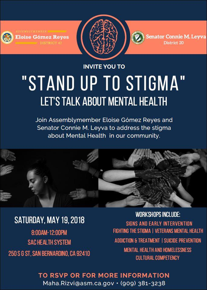 Stand Up To Stigma Let S Talk About Mental Health Official