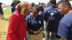Assemblymember with community pastors