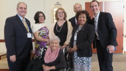Assemblymember meeting with community members
